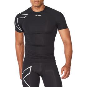2XU Core Compression SS Shirt Men, black/silver